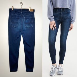 AEO Dark Highest Rise Jegging Jeans